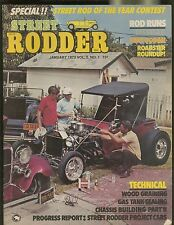 STREET RODDER MAGAZINE JANUARY 1973 WOOD GRAINING GAS TANK SEALING