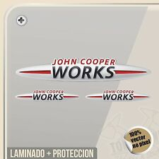 PEGATINA JOHN COOPER WORKS MINI VINYL STICKER DECAL ADESIVI