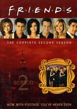 Friends: The Complete Second Season [4 Discs] (2011, DVD NEUF) Viva4 DISC SET