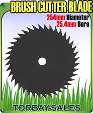 Brush Cutter Blade Strimmer Metal Disc 254mm 25.4mm Bore Petrol 40 Tooth 10""