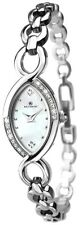 Accurist 8047 Crystal Set Case MOP Dial Cocktail Watch 2 Year Guar RRP £70.00