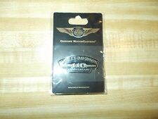 "New in Package Harley Davidson Genuine ""110th Anniversary""  Vest/Jacket/Hat Pin"