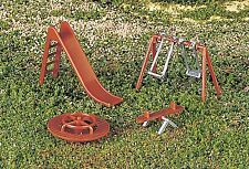 Bachmann HO Scale Train Accessories Playground Equipment 42214