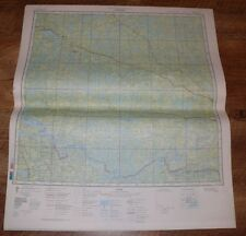 Authentic Soviet USSR Military Topographic Map Dryden Ontario Canada / USA #176