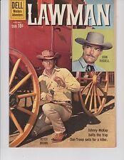 Lawman  #5 ( TV Comic-Photo Cover  FN/VF  7.0) Aug/Oct-1960,  DELL