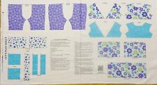 Lets Play Dolls 18 inch doll clothes panel to make Andover Fabric