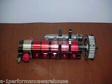 Barnes 6 Stage Dry Sump Oil Pump with Manifold & HTD Pulley #73 NASCAR ARCA NHRA