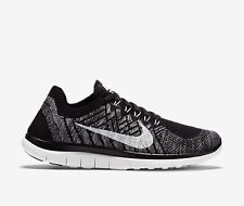 Nike Free FLYKNIT 4.0 BNIB UK 7.5 EU 42.5 Gym Running RRP £89.99 Black