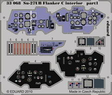 EDUARD ZOOM 33068 Interior S. A. for Trumpeter® Kit Su-27UB Flanker C in 1:32
