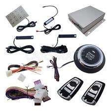 Passive Keyless Entry PKE Car Alarm Push Start Stop Engine Remote Engine Starter