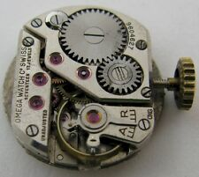 Lady Omega R 13.5 17 jewels watch movement & dial for part ...