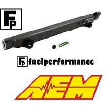 AEM High Volume Fuel Rail Mitsubishi Lancer Evolution EVO 8 9 VIII IX 25-131BK