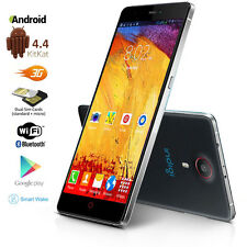 "UNLOCKED! 5.5"" Touch Screen Android 4.4 DualCore 3G GSM+WCDMA Smartphone Phablet"