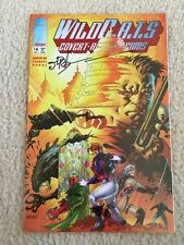 WILDCATS #16 Signed James Robinson (1994) WildC.a.t.s IMAGE COMICS