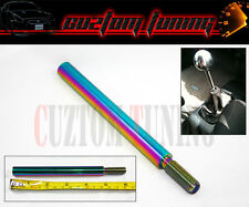 HONDA CIVIC EP3 EG EK EM HF FD FG FA 6'' 150MM NEO CHROME STEEL SHIFTER EXTENDER