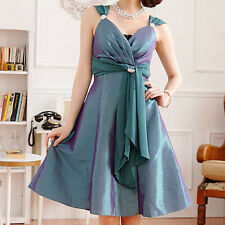 Womens Ladies Wedding Party Evening Cocktail Formal Dress Size 12 14 16 18 #6059