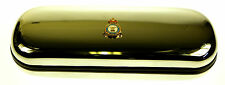 RAF ROYAL AIR FORCE SUPPORT COMMAND HAND MADE IN UK GLASSES DARTS CASE