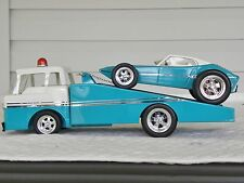 Nylint - Tonka Custom Wedge Bed Car Transporter with Matching Roadster