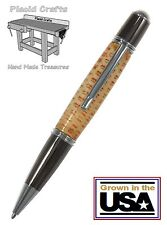 Hand Made Corn Cob Ball Point Pen with Chrome & Gun Metal Hardware #CP108