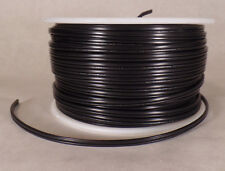 25 ft Black 18/2 SPT-1 U.L. Listed Parallel 2 Wire Plastic Covered Lamp Cord 602