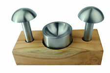 Proops 3 Piece Doming Cupola Set 50-60mm Doming Dapping Shaping Jewellery. J1142