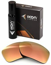 Polarized IKON Iridium Replacement Lenses For Oakley Big Taco - Rose Gold