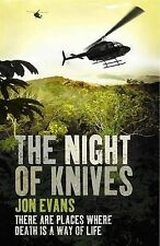 The Night of Knives, Evans, Jon, New Book
