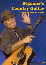 Fred Sokolow Beginner's Country Guitar Learn to Play Folk Western Music DVD