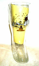 Burgerbrau Reichenhall Santa Xmas Ride German Beer Glass Boot