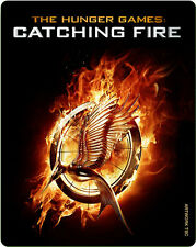 The Hunger Games: Catching Fire - Steelbook Edition - Blu-ray - New