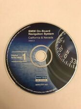 BMW NAVTEQ ON BOARD NAVIGATION DVD MAP DISC CALIFORNIA 2003-2 S0001-0111-407