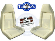 72-74 Mopar B Body Front Bucket Seat Foam Pair PUI NEW