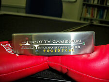 Scotty Cameron Prototype Center Shaft Baby Circle T