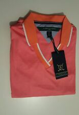 WOMEN'S TOMMY HILFIGER POLO.CORAL.SIZE:SMALL
