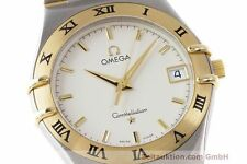 OMEGA CONSTELLATION STAHL / GOLD HERRENUHR KLASSIKER DATUM VP: 3220,- EURO