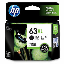 Exp 2017/2018 (RETAIL BOX) Genuine HP 63XL Black F6U64AN Ink OfficeJet 3830 4650