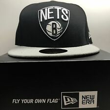 New Era 59Fifty Brooklyn Nets 7 1/4 Fitted Baseball Cap 2  Free Post