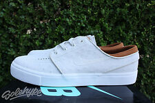 NIKE SB ZOOM STEFAN JANOSKI LEATHER SZ 10 IVORY LIGHT BONE HAZELNUT 616490 102