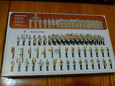 Preiser HO #16550 Military - Modern German Army  51-Piece Band w/Instruments