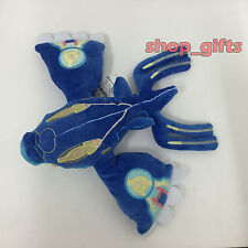 "Pokemon Alpha Sapphire Primal Kyogre #382 Plush Soft Toy Stuffed Animal Doll 11"""