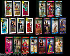 Princess Dolls of the World India French Court Incas Nile Barbie Lot 21 Sh Wear