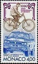 """MONACO STAMP TIMBRE 1717 """" AUTOMOBILE CLUB CYCLISTE LANCIA RALLYE """" NEUF xx TTB"""
