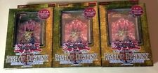 3x YuGiOh Rise of Destiny Special Edition SE 1st Edition Deck/Box Sealed English