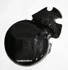 KAWASAKI ZZR600 CARBON LIMADECKEL MOTORDECKEL ENGINE COVER CARBONE CARBONO