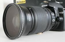 New 0.43X WIDE ANGLE MACRO Lens For Nikon NIKKOR 18-200mm AF-S Zoom Lens 72mm