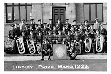 pt6047 - Lindley Prize Band 1923 , Huddersfield , Yorkshire - photo 6x4