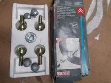 CITROEN AX BX CX ZX XM WHEEL LOCKING SET GENUINE NEW CITROEN ZC9863069U