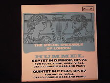 J.N. Hummel - Septet in D Minor/Quintet in E Flat / Melos Ensemble of London