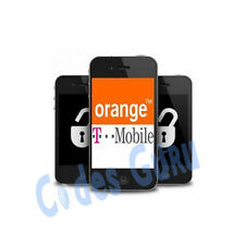 UNLOCK IPHONE 4 5 4S 5S 5C 3GS 6 6+ T-MOBILE ORANGE EE UK BLOCKED BARRED 1-7DAYS