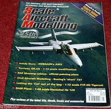 Scale Aircraft Modelling 25.5 Vickers Valiant,Tornado,737,Tigercat,HS129,AMX,P51